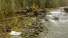 Yours Truly 0218 (All h2o) Tags: pacific northwest gray wolf river olympic mountains peninsula forest stream creek drone nature landscape water autumn fall season