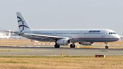 Airbus A321-231 SX-DVO Aegean Airlines (William Musculus) Tags: airport spotting plane airplane fra frankfurt am main rhein frankfurtmain fraport eddf flughafen sxdvo aegean airlines airbus a321231 a3 aee a321200 william musculus