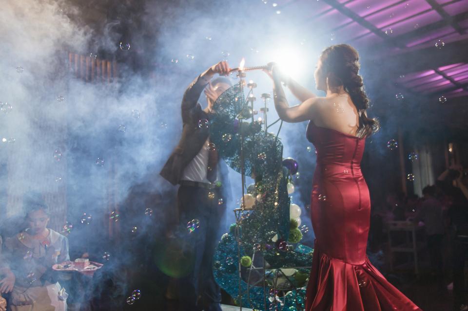 台南東東宴會式場 婚宴 走在幸福的紅毯上 R & B 137