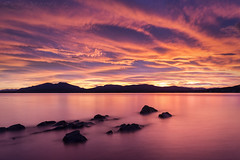 Morning Has Woken (SkyeWeasel) Tags: scotland skye landscape seascape dawn sunrise sky clouds broadfordbay longexposure ngc npc