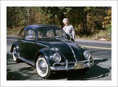 Vehicle Collection (9402) - Volkswagen (Steve Given) Tags: socialhistory familycar motorvehicle automobile kodachrome volkswagen 1960s