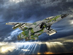 "Macross +++ 1:100 Stonewell/Bellcom VF-1J ""Valkyrie""; aircraft ""BD 530"" of the U.N.S.A.F. 643rd Tactical Fighter Squadron; Barksdale AB, 2013 (Whif/Arii kit) (dizzyfugu) Tags: anime macross model kit japanimation battroid valkyrie destroid giant robot gerwalk fighter zentraedi transformers oav dizzyfugu modellbau robotech protoculture vf1 walküre lizard europe one warparound paint scheme low viz grey green fs 36173 34092"