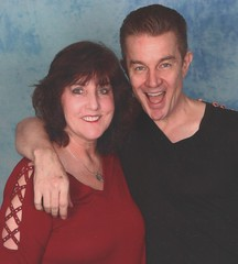 with James Saturday (JeanbugC) Tags: vampireball buffythevampireslayer jamesmarsters julietlandau andrewferchland markmetcalf tomlenk photoops