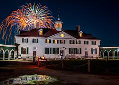 Mount Vernon Illumination #3 (jcernstphoto) Tags: mountvernon georgewashington virginia fireworks night holidays illumination reflection alexandria va