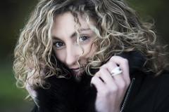 Séverine (Tony N.) Tags: portrait portraiture séverine shooting girl fille eyes yeux hair cheveux smile sourire nikkor85mm18 nikon reflector reflecteur