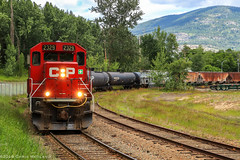 CP 2329 ~ Teck Cominco, Warfield (Chris City) Tags: train railway railroad shortline switcher switching yard industry cpr kvr