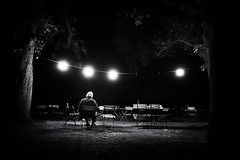 315 (dijopic) Tags: bw dark darkness night evening outdoor light man person mood sony view