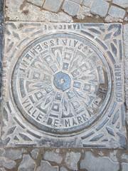 Ville de Marrakech (So Cal Metro) Tags: manhole utility cover vault morocco maroc water sewer marrakech villedemarrakech