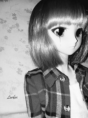 Monochrome (Lurkz D) Tags: spunky lurker doll custom vinyl volks dd dollfiedream
