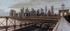 Brooklyn Bridge (Trevor Zicherman) Tags: nyc brooklyn bridge sony a7iii a7 a7rii pano panorama sunset 1875 newyork city cityscape wtc downtown manhattan