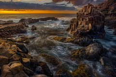 El Hierro (6) (Piotr Stachowiak) Tags: 2018 autumn september elhierro piotrstachowiak atlantic ocean longexposure le wave water waterscape sea seascape seaside coast coastline sunset charco azul