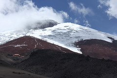 Cotopaxi (rhianwhit) Tags: volcano ecuador scenery mountains andes stratovolcano ironoxide red snow snowfield