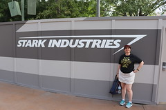 "Tracey at the Stark Industries Wall • <a style=""font-size:0.8em;"" href=""http://www.flickr.com/photos/28558260@N04/45998179472/"" target=""_blank"">View on Flickr</a>"