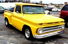 Chevy truck (mark1973r) Tags: gm chevy chevrolet truck pickup yellow heartbeatofamerica