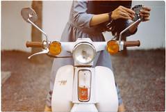 (grousespouse) Tags: vietnam 35mm analog film olympusom2n fzuiko50mmf18 fujicolor100 analogue fade grain hondacub classic vintage retro colorfilm saigon hcmc hochiminhcity vietnamese croplab grousespouse 2018