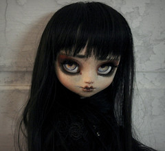 Théodora ♥ (Loony-Doll) Tags: pullip fc doll dolls pullipfc ooak custom custo pullipcustom makeup sculpt eyechips wig eyelashes groove