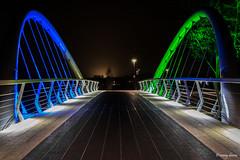 Turnhout, Fietsersbrug. (What's Around) Tags: turnhout fietsersbrug belgium belgie nachtfotografie 1750mm