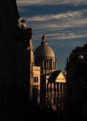 Saint Marks Church, Aberdeen (PeskyMesky) Tags: aberdeen saintmarkschurch city light scotland sky contrast architecture cloud canon canon5d eos