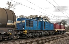 17_2019_02_06_Gelsenkirchen_Bismarck_1275_837_NRAIL_BOCHOLTER_EISENBAHN_&_1275_103_NRAIL_mit_Kesselwagenzug_und_1203_211_&_1202_237_PRESS (ruhrpott.sprinter) Tags: ruhrpott sprinter deutschland germany allmangne nrw ruhrgebiet gelsenkirchen lokomotive locomotives eisenbahn railroad rail zug train reisezug passenger güter cargo freight fret bismarck akiem cww db de eh erd nrail pkpc rpool 0275 0632 1202 1203 1265 1275 5370 6155 6185 6186 6187 6189 6193 9263 9425 lkw captrain dortmundereisenbahn sandzug abzwcrange dortmund bottropsüd dorsten logo natur outdoor graffiti