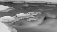 Royal River-190121-02 (tombealphotos) Tags: acros blackandwhite ice landscape longexposure maine nature river riverscape royalriver xh1 xf1655mmf28rlmwr
