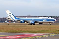 Boeing 747-4EVF(ER) - G-CLAE - HAJ - 22.01.2019 (Matthias Schichta) Tags: haj eddv hannoverlangenhagen planespotting flugzeugbilder boeing 747400f gclae cargologicair