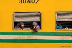 On The Train (Irene Becker) Tags: africa arewa imagesofnigeria kaduna kadunastate nigeria nigerianimages nigerianphotos northnigeria westafrica northernnigeria train railway railwaystation passengers traveling