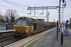 Colas Rail 67023 and 67027 - Flitwick (Neil Pulling) Tags: midlandmainline mml train railway flitwick england bedfordshire rhtt colasrail67023 colasrail67027 67023 67027