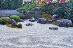興臨院のお庭 (katsuzin13) Tags: kyoto daitokuji temple 京都 大徳寺 興臨院 枯山水 庭園