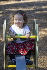 (louisa_catlover) Tags: portrait family child toddler daughter tabitha tabby park playground outdoor beckettpark melbourne victoria australia spring november afternoon seesaw