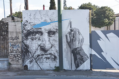 The Creator (Pensive glance) Tags: graffiti image painting wall mur mural streetart artderue