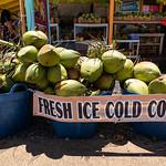 Fresh ice cold Coconuts in Waimea Hawaii thumbnail