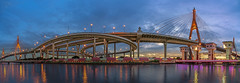 Bhumibol Bridge (Star Wizard) Tags: phrapradaeng samutprakan thailand th