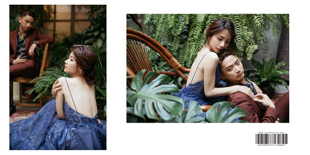 台南自助婚紗|有氛圍感的情境故事,為你呈現一場遠離塵囂的婚紗寫真