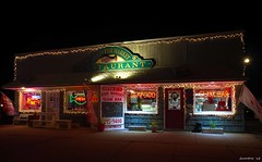 Spike's Seafood (swmartz) Tags: seaside seafood spikes pointpleasant nikon newjersey outdoors night d610 neon december 2018 clams fresh ocean fishing