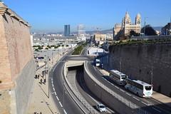 l'autoroute A55 (Jeanne Menjoulet) Tags: autoroute france a55 marseille mucem major tourcmacgm tournouvel
