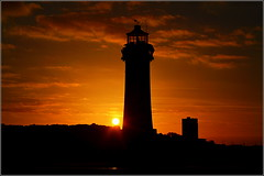 Fort Perch Rock Lighthouse Sunset (New Brighton Wirral UK) 2nd January 2019 (Cassini2008) Tags: sunset newbrighton wirral fortperchrocklighthouse lighthouse