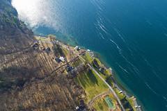 Beautiful in Any Season (Matt Champlin) Tags: hike hiking drone aerial flying flight life skaneateles nature outdoors winter january love beauty fingerlakes flx 2019 blue amazing sunny lake protection ny