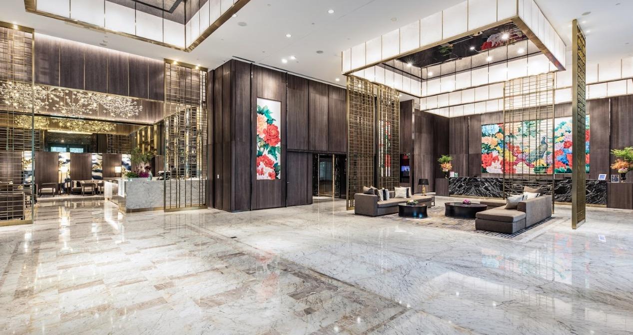 板橋凱薩大飯店大廳