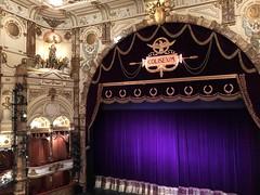 purple curtain (Hayashina) Tags: theatre curtain purple london