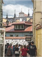 177- CALLE DE LA LITERATURA - VILNIUS - LITUANIA- (--MARCO POLO--) Tags: calles barrios ciudades curiosidades hdr arquitectura