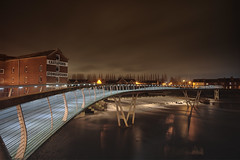 Millenium Bridge 2 (EricMakPhotography) Tags: night longexposure bridge river sonya7r