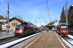 OBB 1216 020 met Eurocity (vos.nathan) Tags: taurus obb österreichische bundesbahnen steinach am brenner innsbruck hbf hauptbahnhof matrei 1216 020 talent 4024 025