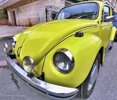 Maggiolino (ioriogiovanni10) Tags: hero6 gopro vintage roma ricordi buonanno automobile giallo yellow auto car