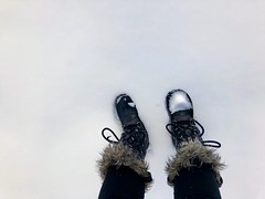 """""""Time is a game played beautifully by children."""" ―Heraclitus ❄️ ☃️ ❄️ (anokarina) Tags: appleiphone8 forttotten pleasanthill rockcreekcemetery stpaulsrockcreek instagram nofilter graveyard cemetery winter snow sorel boots dcist"""
