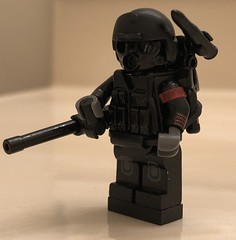 "- ""Honey Badger"" Concept - (WiΙl) Tags: lego conceptart brickarms custom minifigure toy coool"