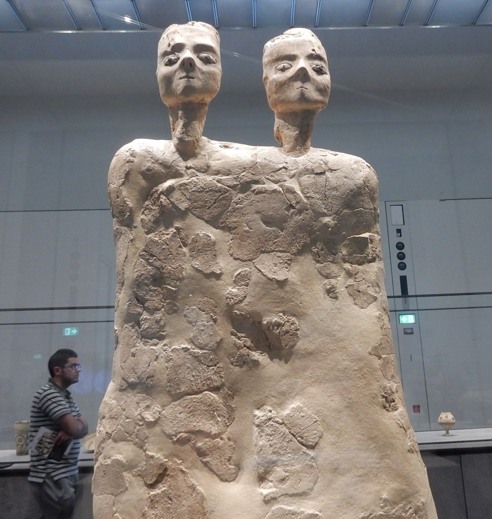 0ae66dbcb66 Two Headed Statue (mikecogh) Tags: abudhabi louvre museum statue  doubleheaded jordan ancient