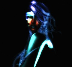 Neural (Carla Putnam) Tags: woman scifi futuristic space aqua lavender cyborg fantasy erotic sfifierotic metallic aquaskin blueskin greenskin sciencefiction metallicskin digitalarttaiwan hiddendesires sexy