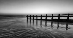 Fade-to-the-sea (Through Bri`s Lens) Tags: sussex beach lowtide groynes reflection brianspicer canon5dmk3 canon1635f4 shorehambysea