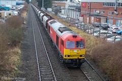 DB Cargo 60017 (Mike McNiven) Tags: db dbcargo cargo freight peakforest tunstead sidings arpley warrington wythenshawe baguley southmoorroad loco locomotive diesel brushtraction brush