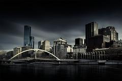 evanwalker-bridge-melbourne-long-exposure-2 (Leanne Cole) Tags: canonaustralia canon canon5dmarkiv cityscape longexposure photography southbank melbourne australia skyline city sky